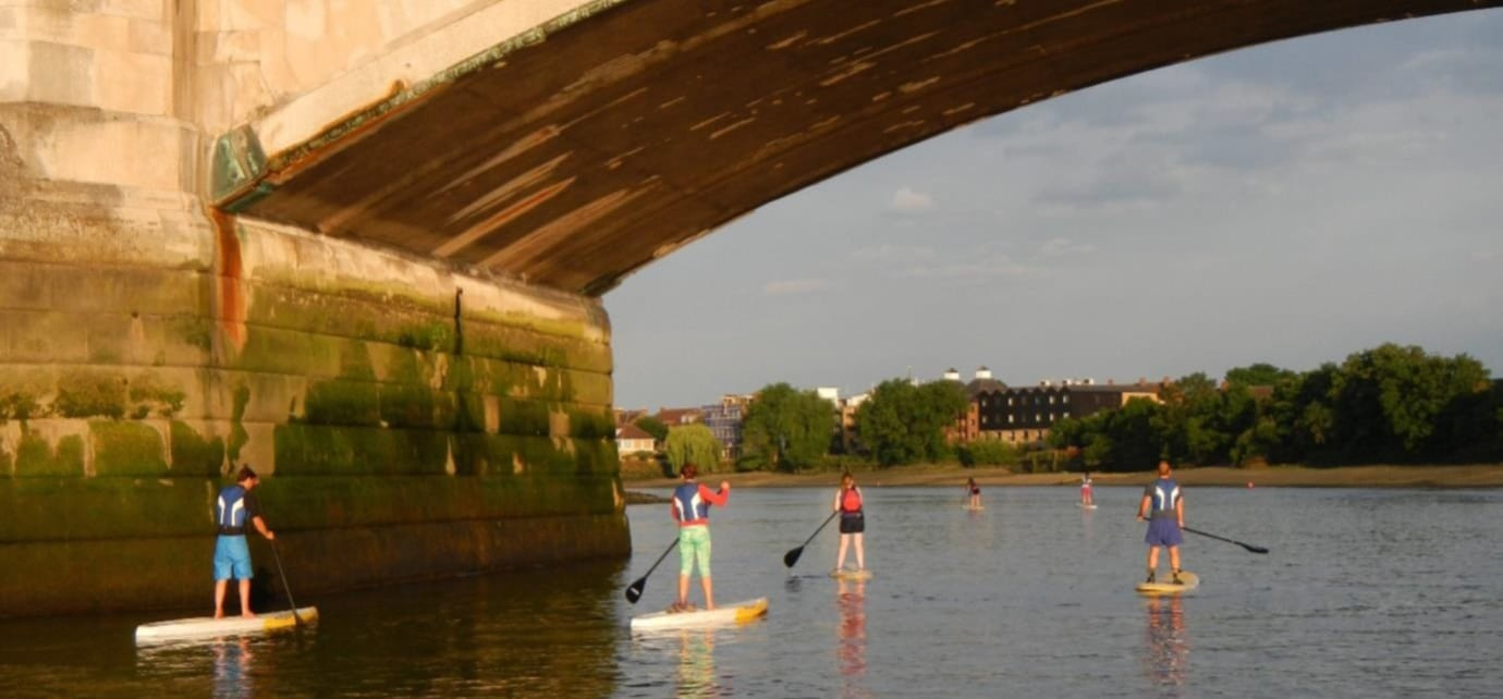 Introduction to SUP with River Trip - London-3