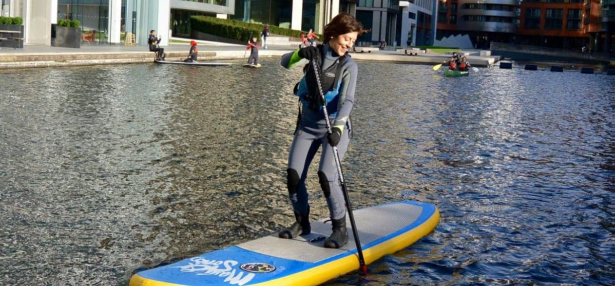 Beginners Private SUP Lesson - London-1
