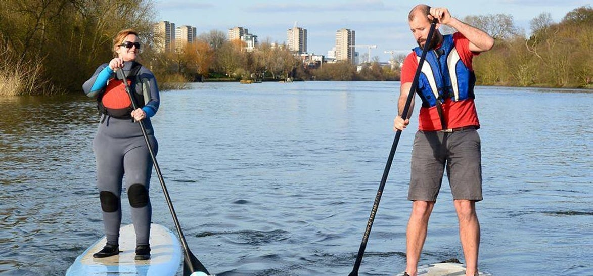 Introduction to Paddleboarding - London-1