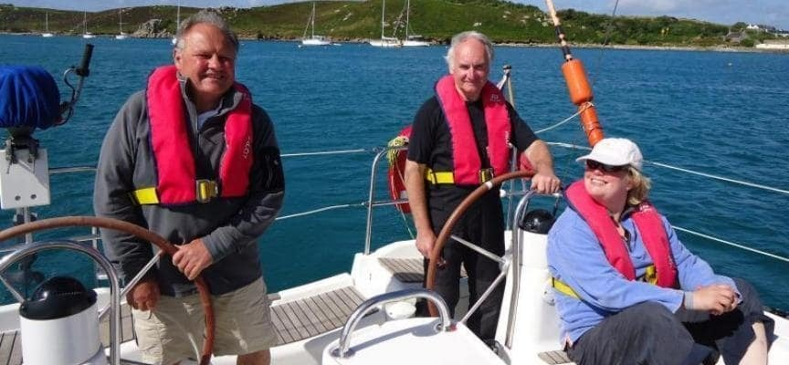Weekend Sailing Lessons Pembrokeshire