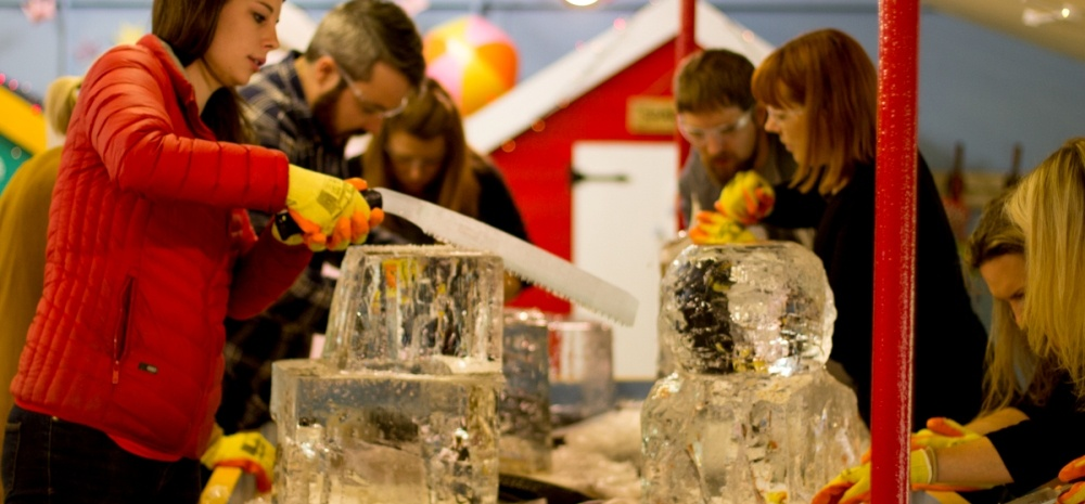 Ice Sculpture Workshop For Two In Yorkshire-1