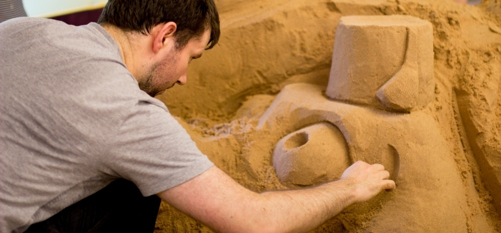 Sand Sculpture Masterclass For Two In Yorkshire-1