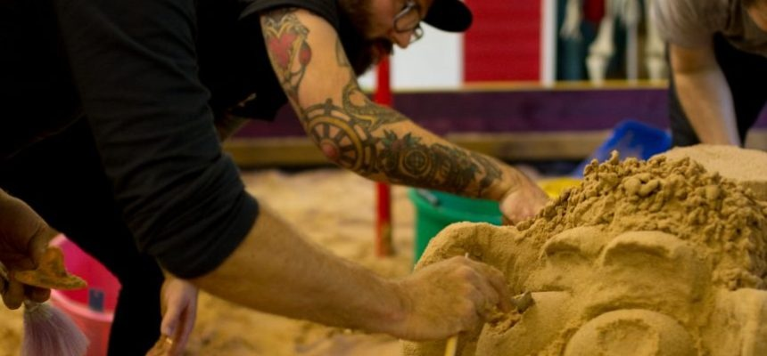 Sand Sculpture Masterclass For Two In Yorkshire-5