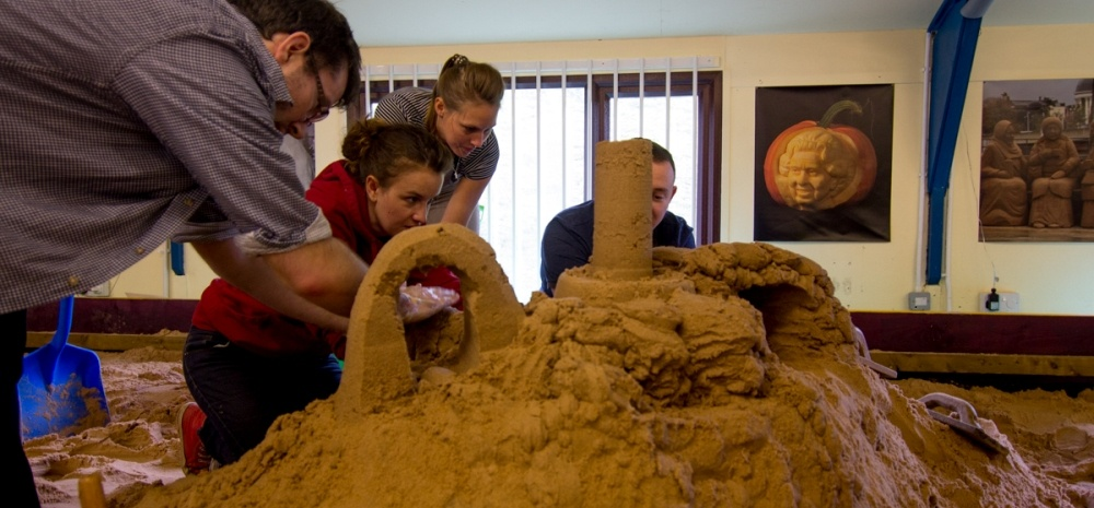 Sand Sculpture Masterclass For Two In Yorkshire-3