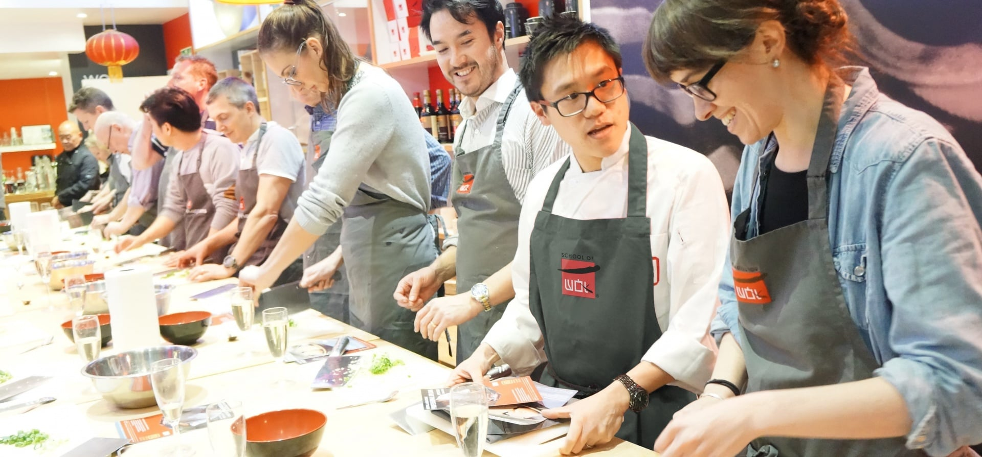 Oriental Seafood and Fish Cooking Class in London-1 Favorite
