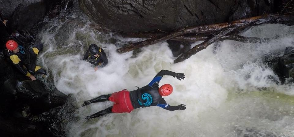 Half Day Canyoning Experience in Stirlingshire-12