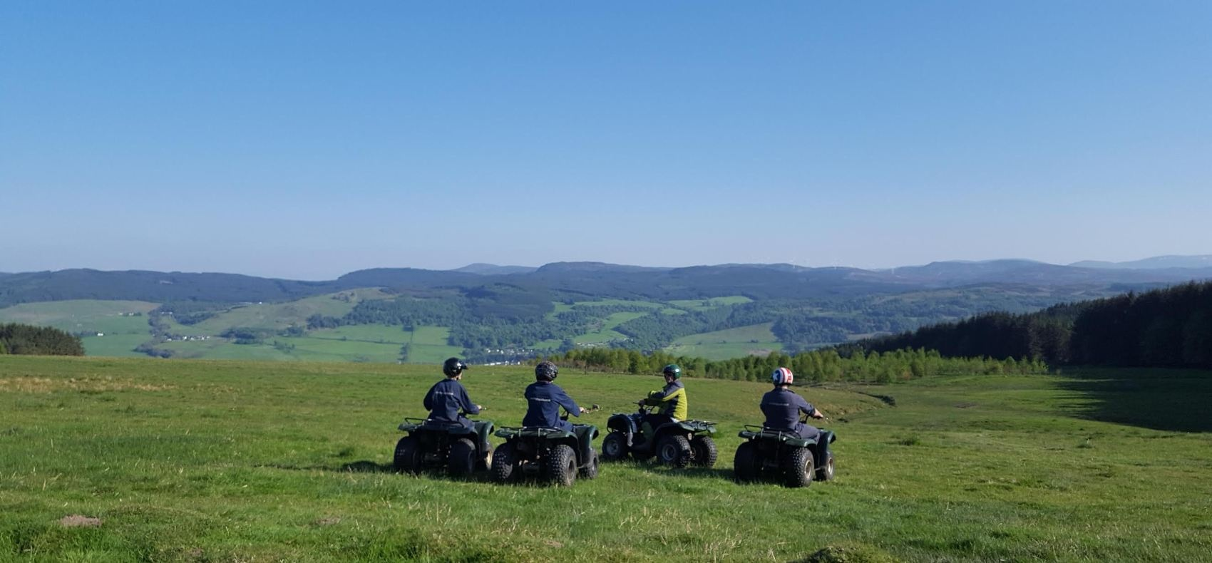 Quad Bike Experience Scotland 1 Hour-3