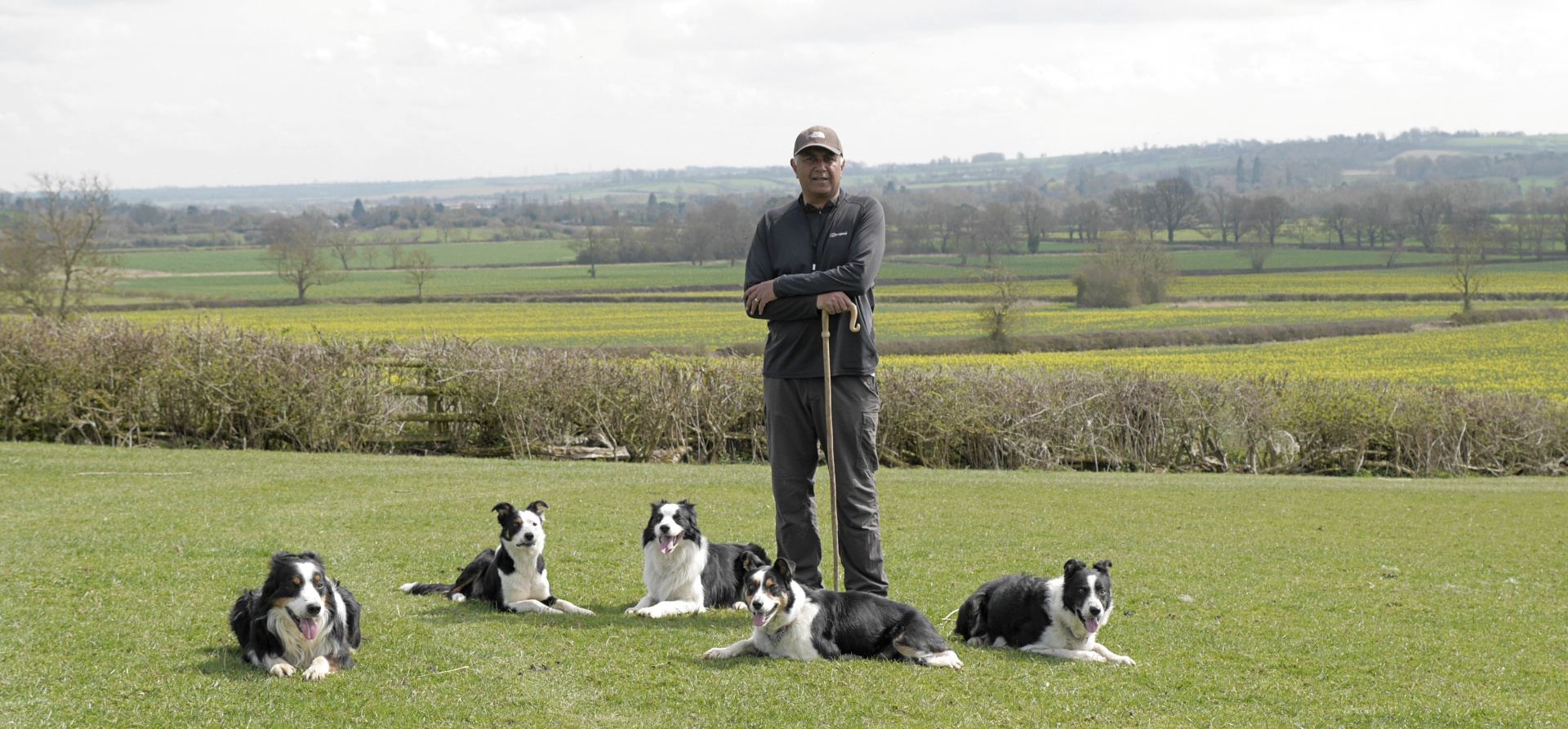 Sheepdog Training Experience for Two - Leicestershire-9