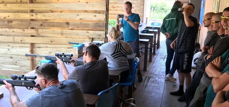 Rifle Shooting and Axe Throwing Experience in Cheshire for 2-5