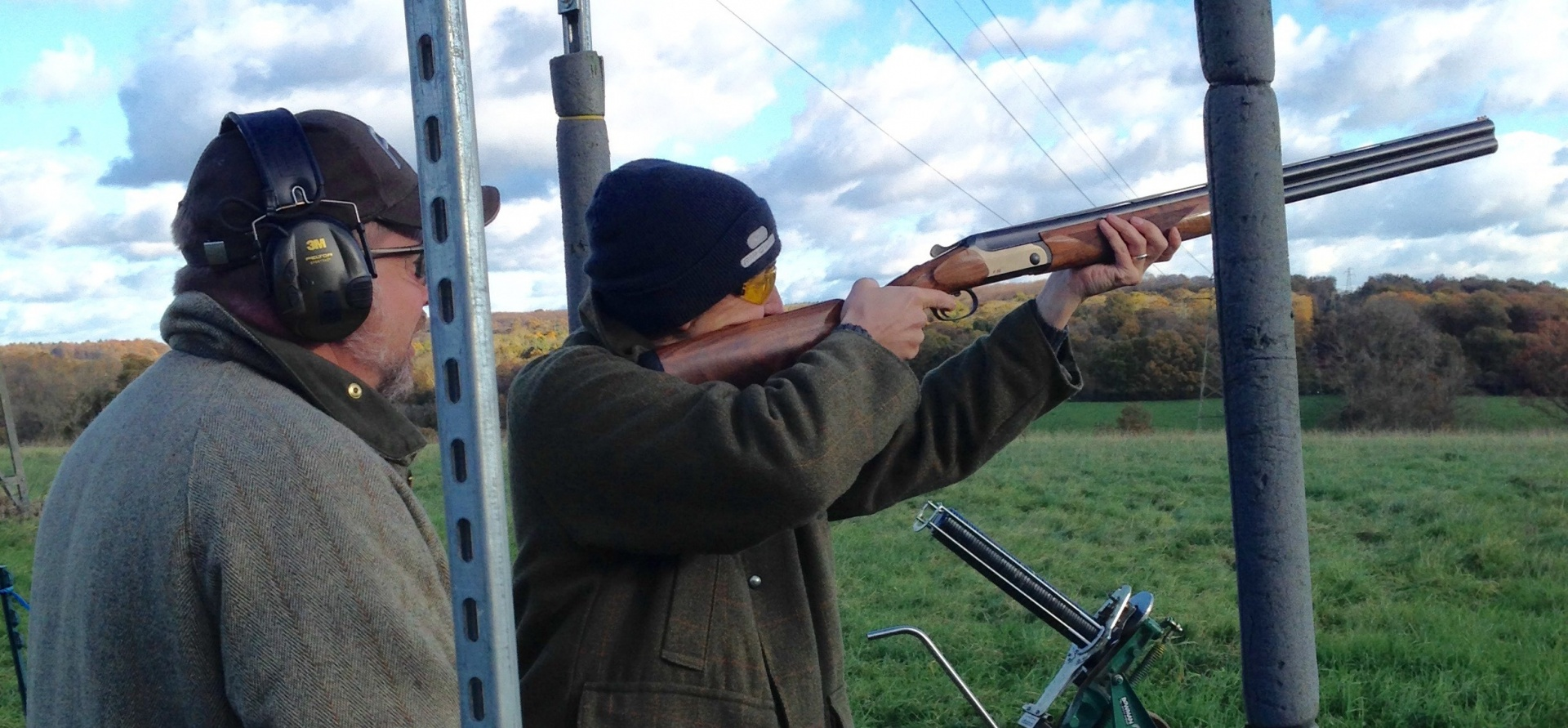 Clay Pigeon Shooting in Kent (50 Clays)-11
