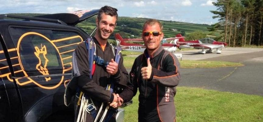 Experience Tandem Skydiving In Cornwall