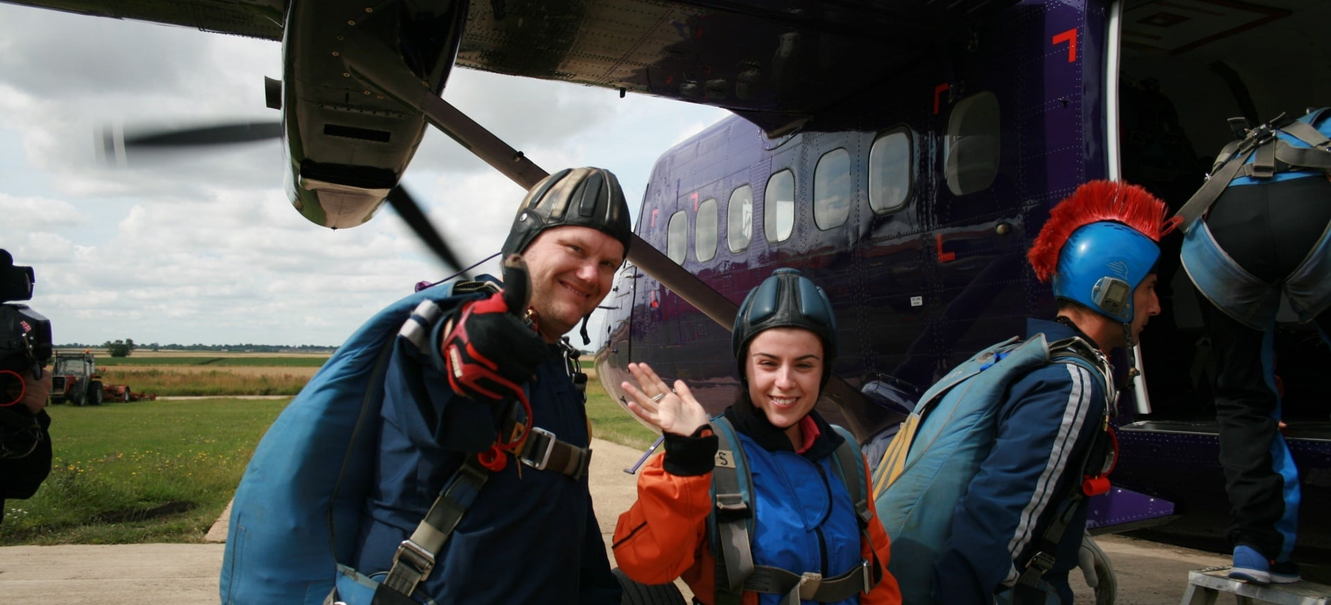 Skydiving Course UK   AFF Level 1