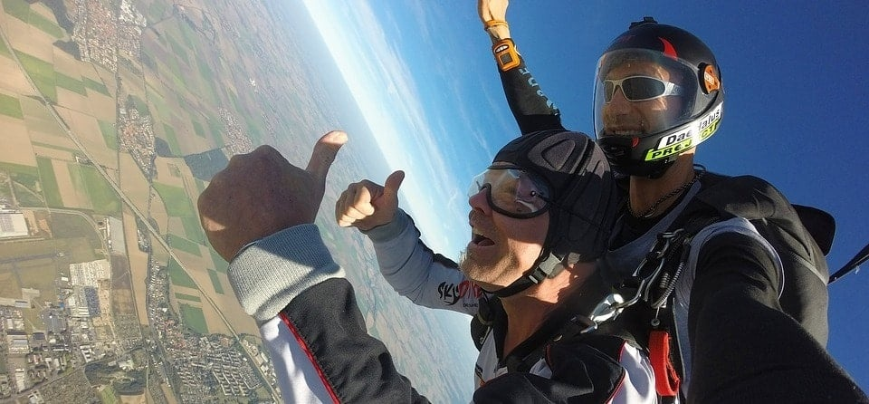 Lincoln Highest Skydive in the UK - With Video Package-2