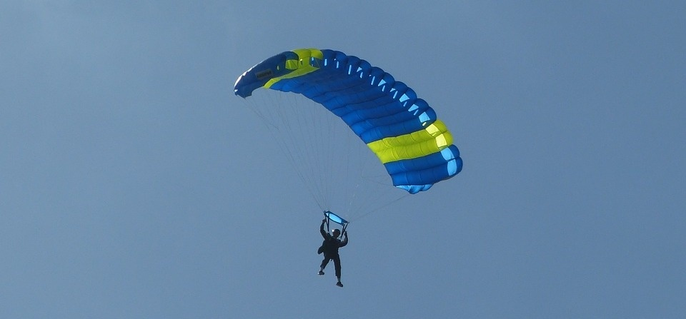 Image result for parachute jump