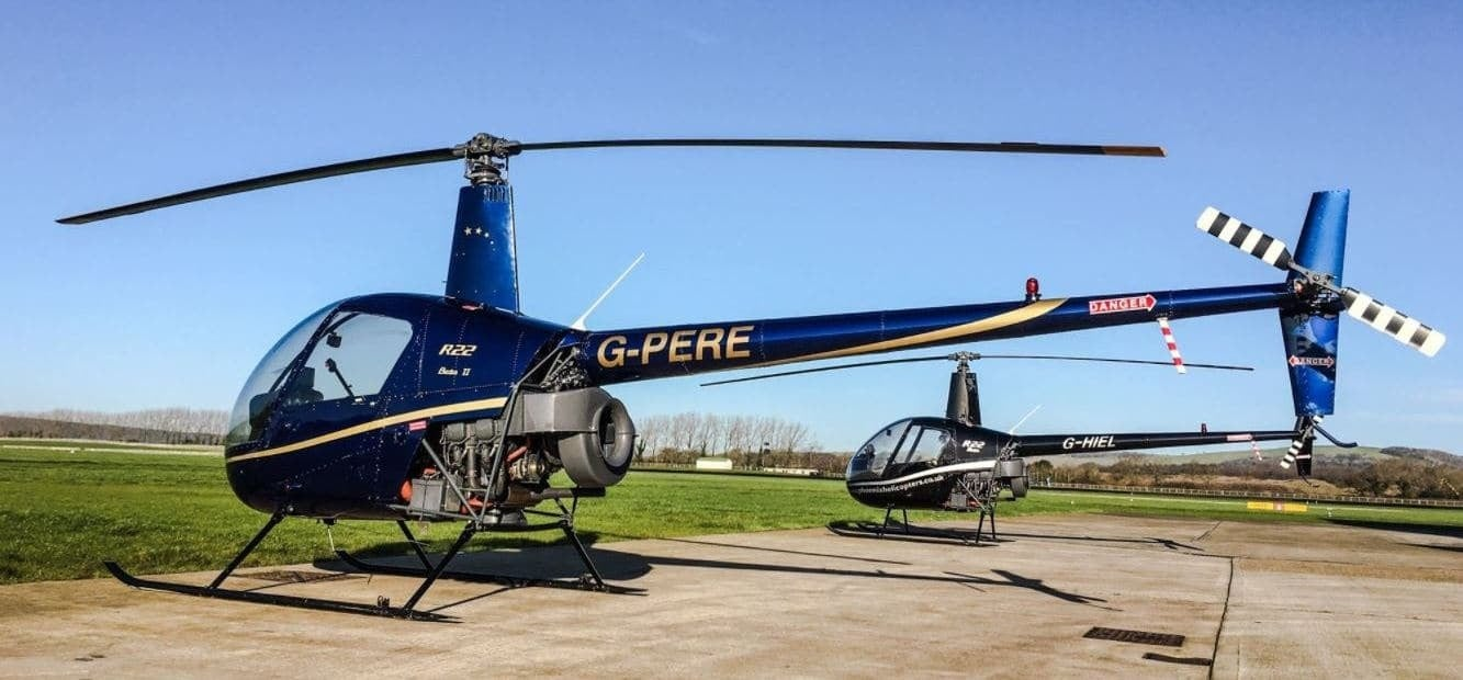 One Hour Solent R22 Helicopter Flying Lesson-4