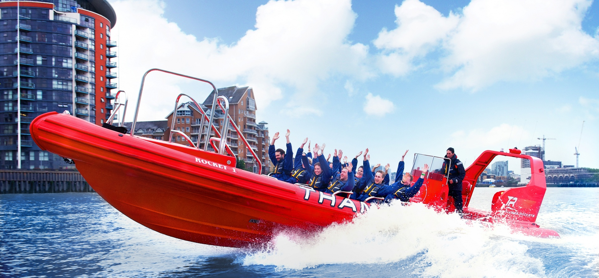 Adult London Speed Boat Taster Experience-3