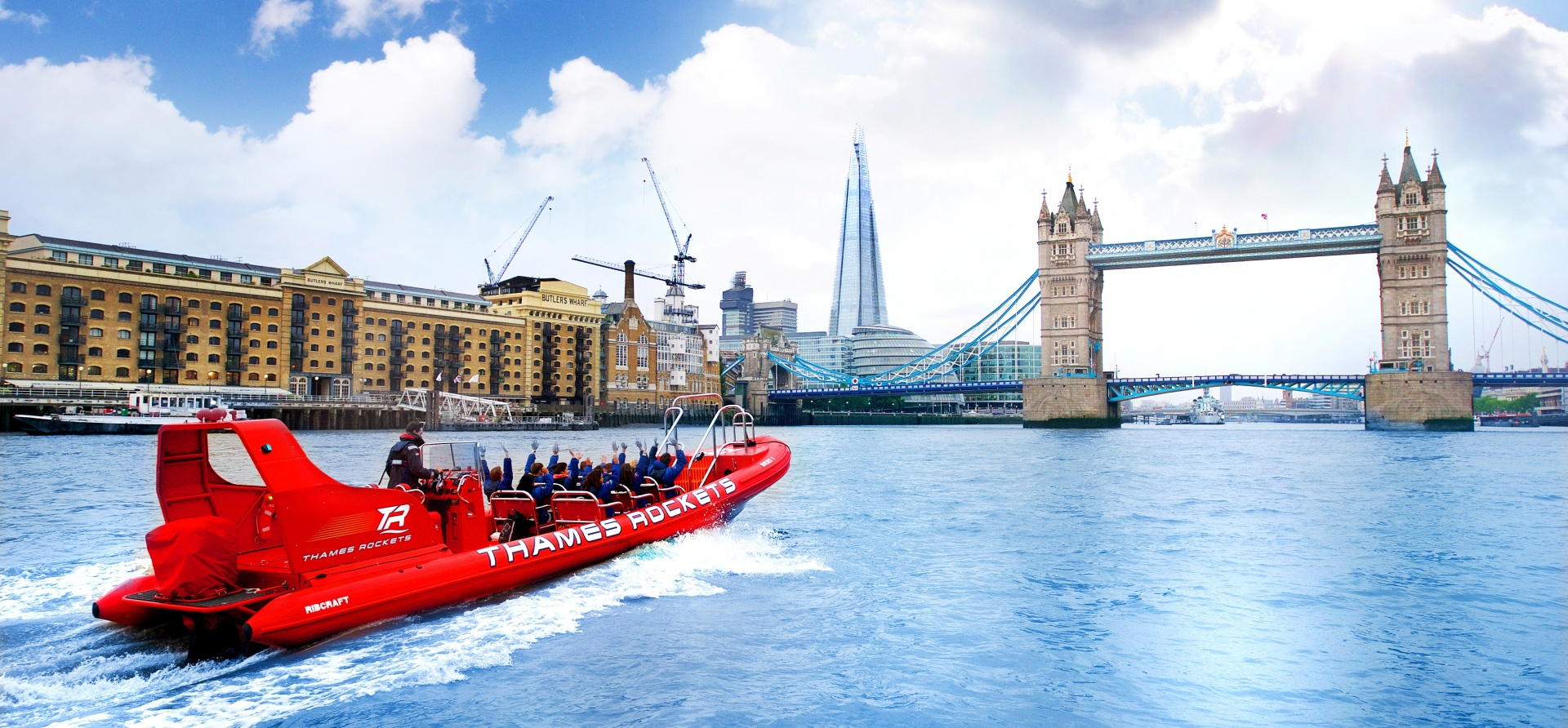 Adult London Speed Boat Taster Experience-1