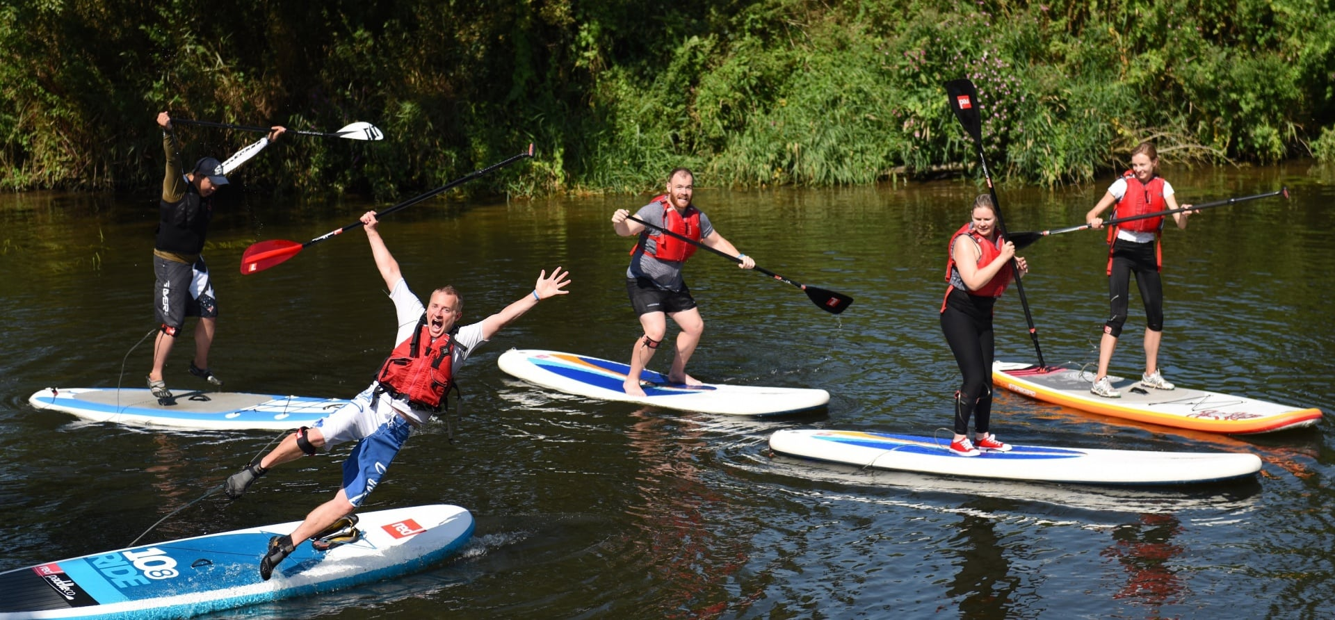 Stand Up Paddleboarding Introduction - Bristol-1