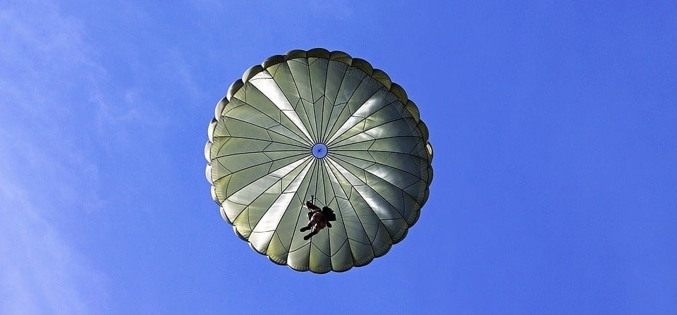 RAPS Static Line Parachute Jump in Lincolnshire-1