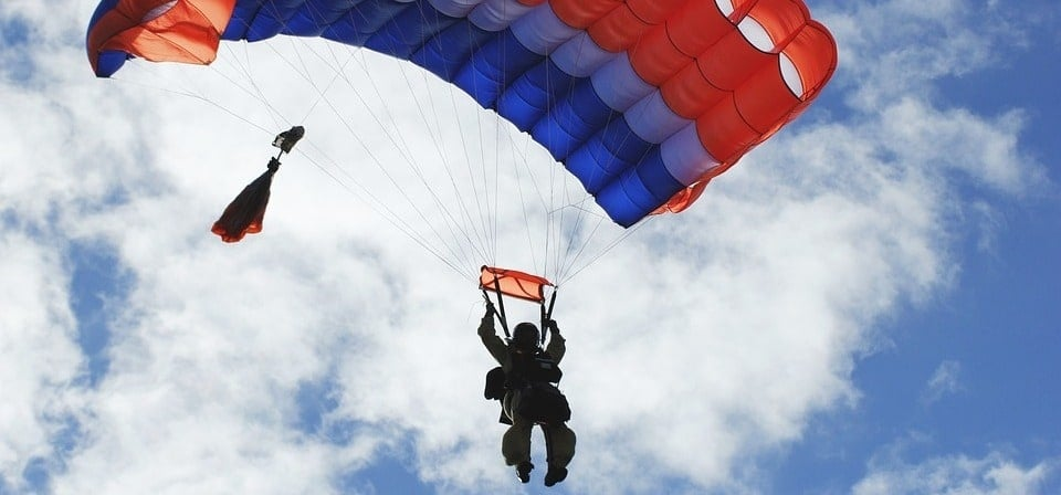 RAPS Static Line Parachute Jump in Lincolnshire-2