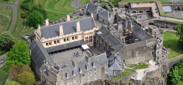 Stirling Castle and Wallace Monument Pleasure Flight For Three-3