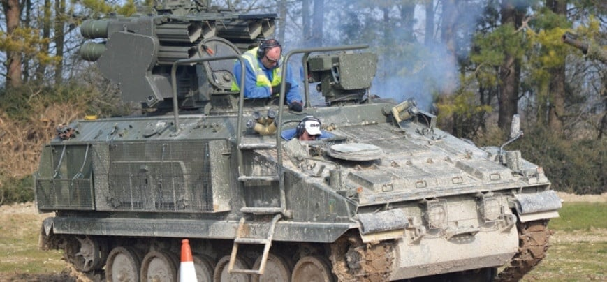Experience Tank Driving - Hampshire-2