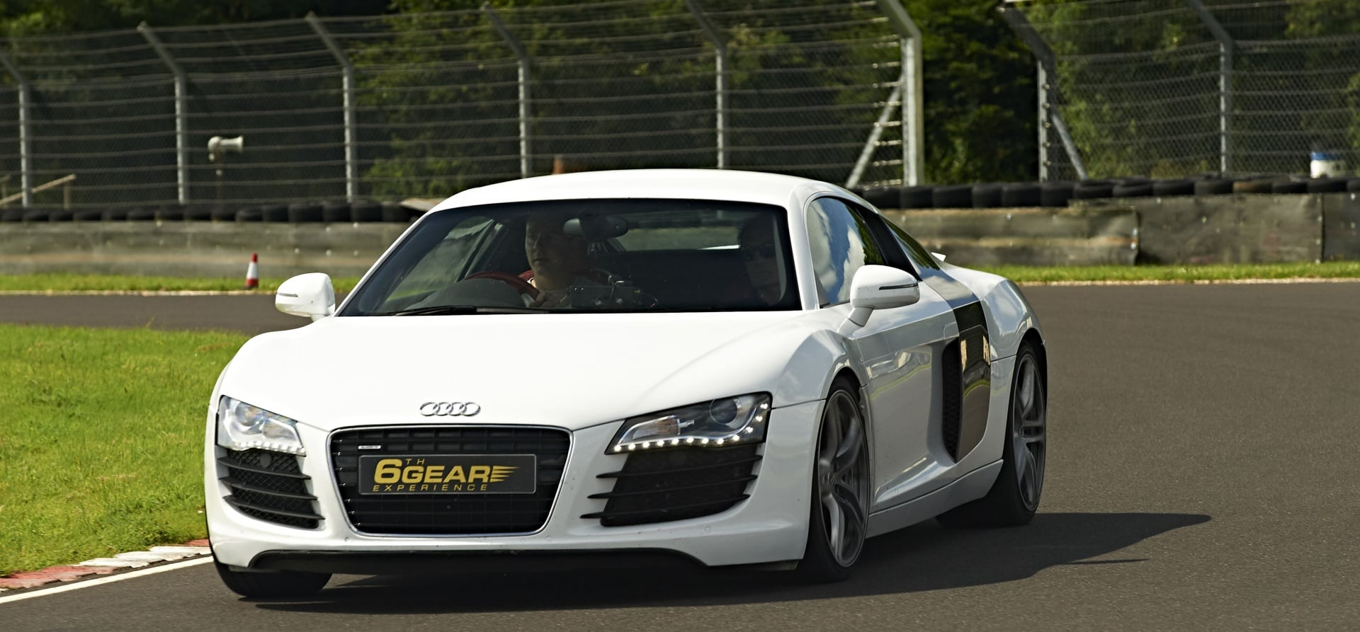 thrilling supercar track day experience in an audi r8. Black Bedroom Furniture Sets. Home Design Ideas