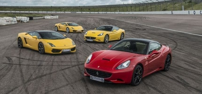 4 Supercar Driving Experience At Goodwood Motor Circuit