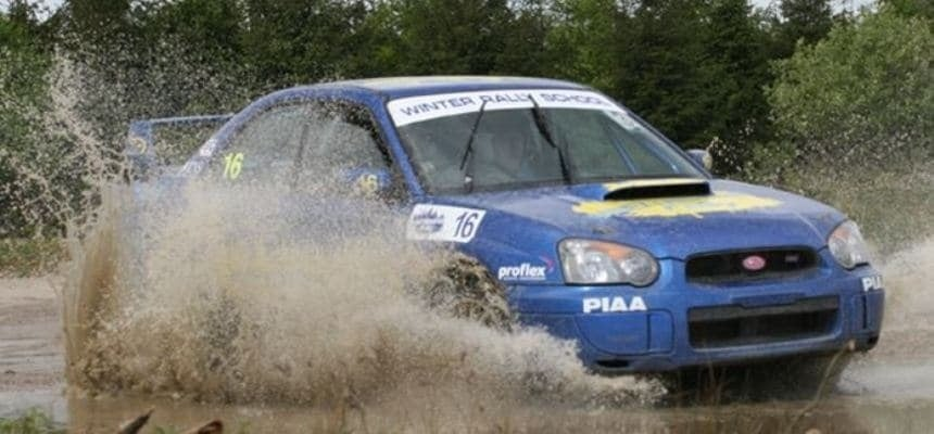 Rally Driving Experience - Thoroughbred Battle
