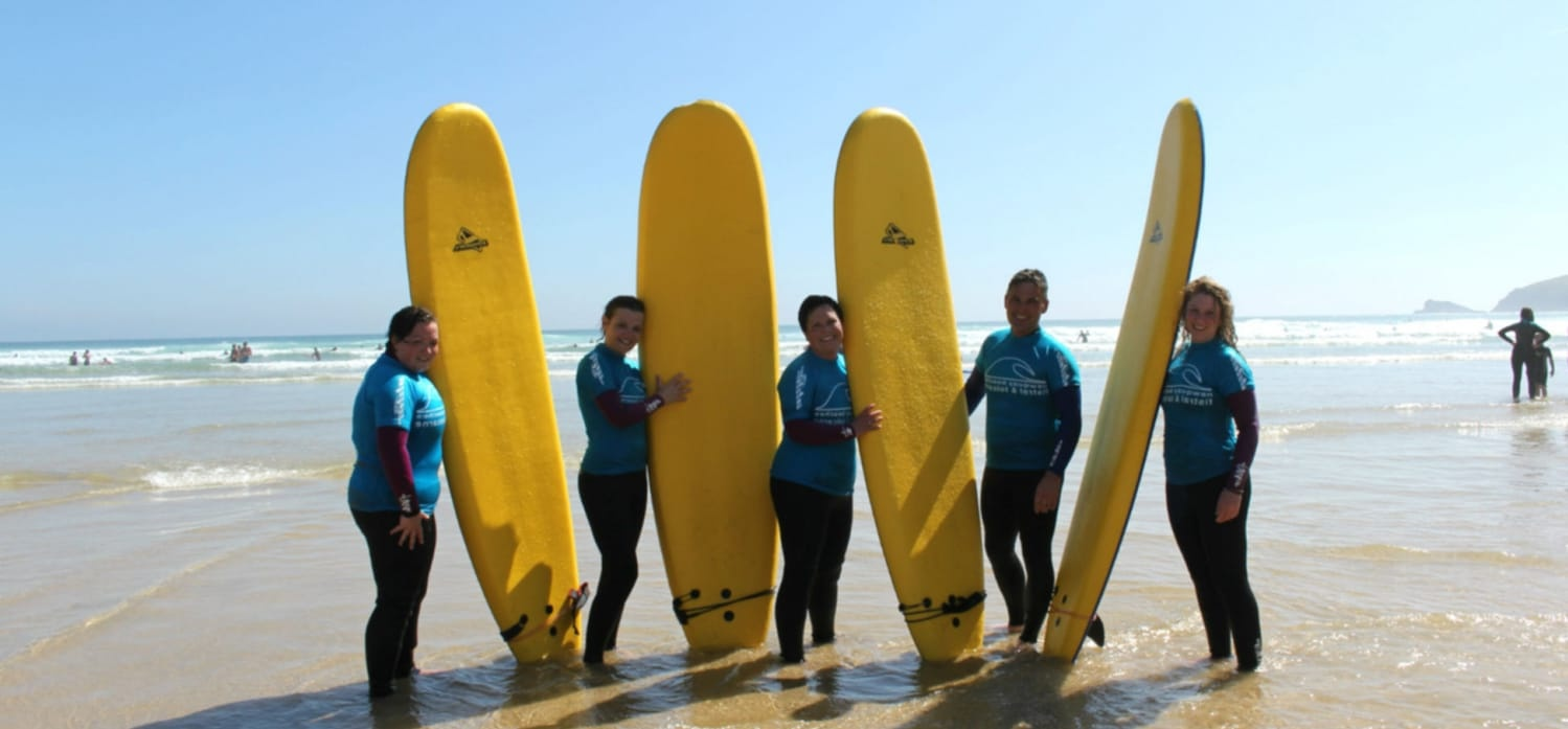 Surfing Lesson For 2 - Newquay-2