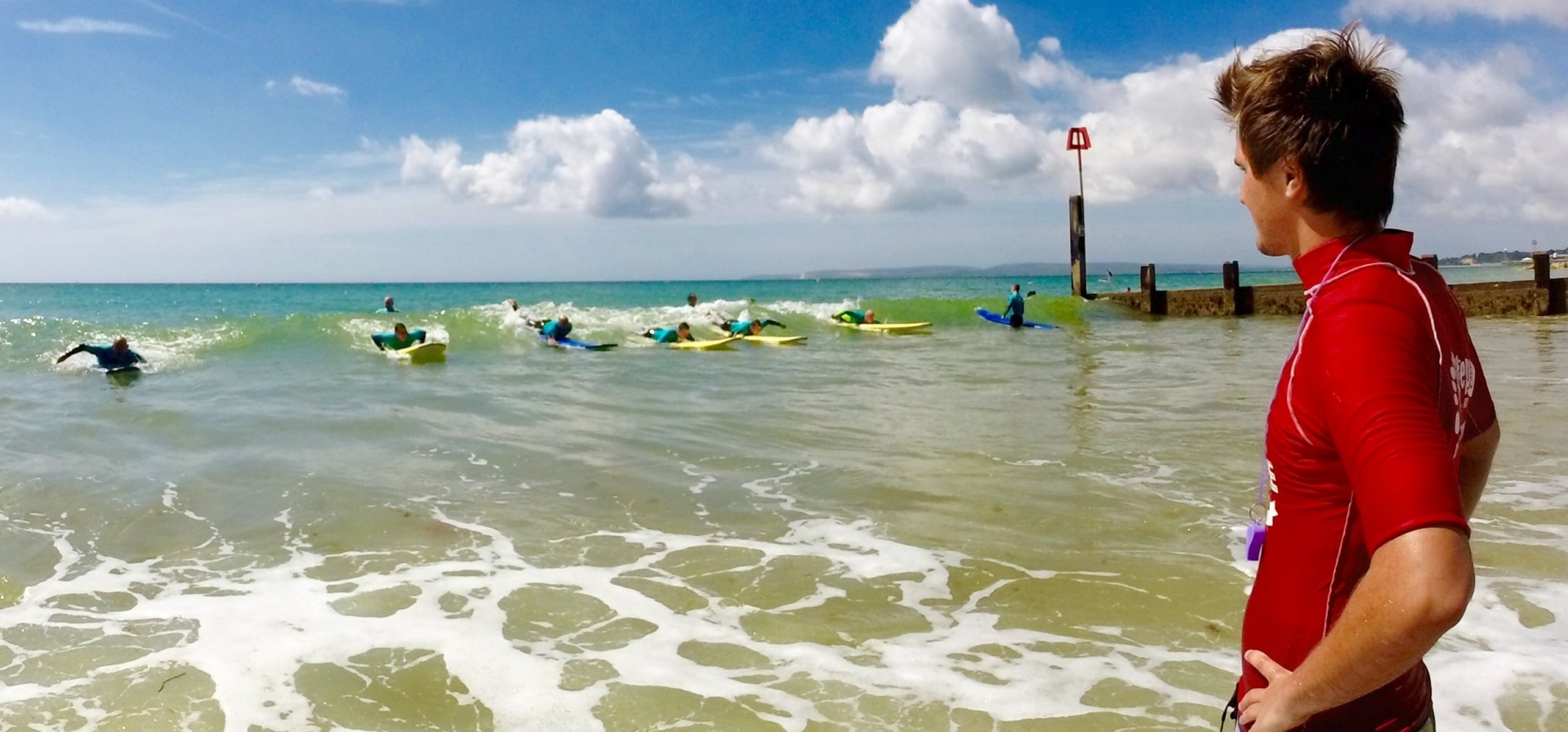 Surfing Improver Course - Bournemouth-4