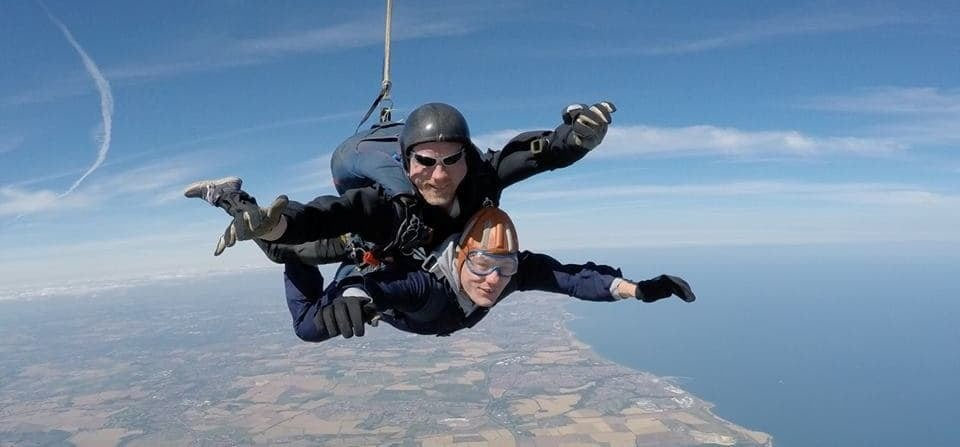 Durham Tandem Skydive Experience-1