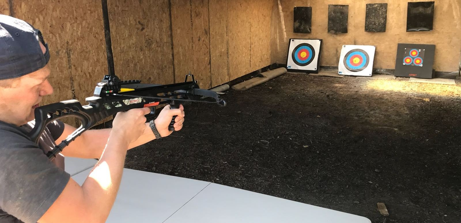 Axe Throwing and Crossbow Experience in Cheshire for 2-4