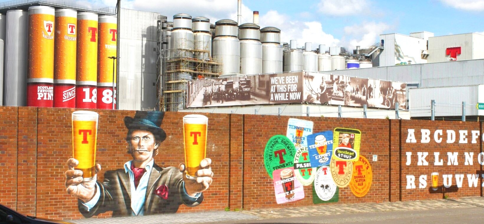 Tennents Brewery Tour For Two In Glasgow