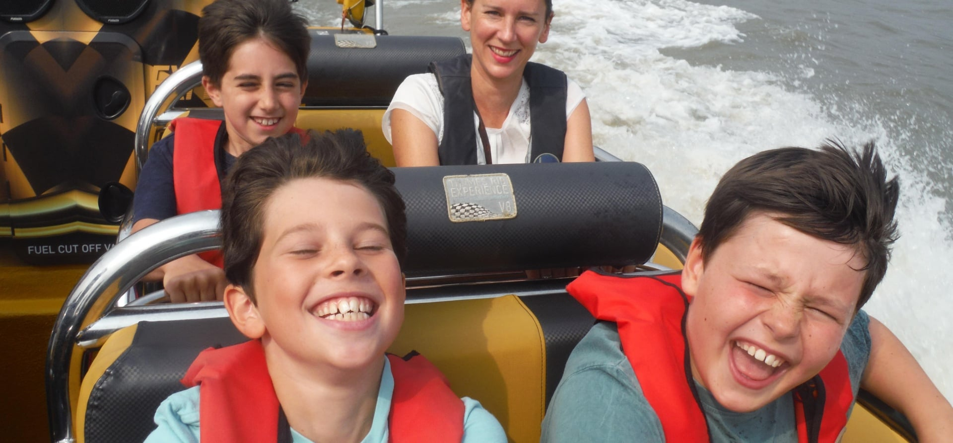 Thames RIB Canary Wharf Experience - Child-1