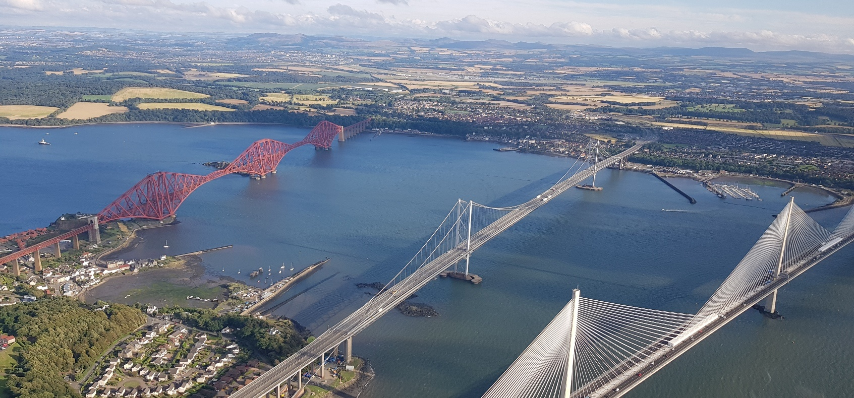 Edinburgh Helicopter Sightseeing Tour For Three