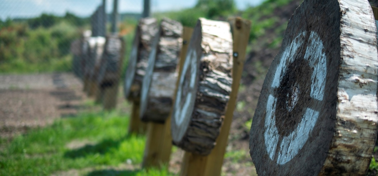 Axe Throwing and Crossbow Experience in Cheshire for 2-1