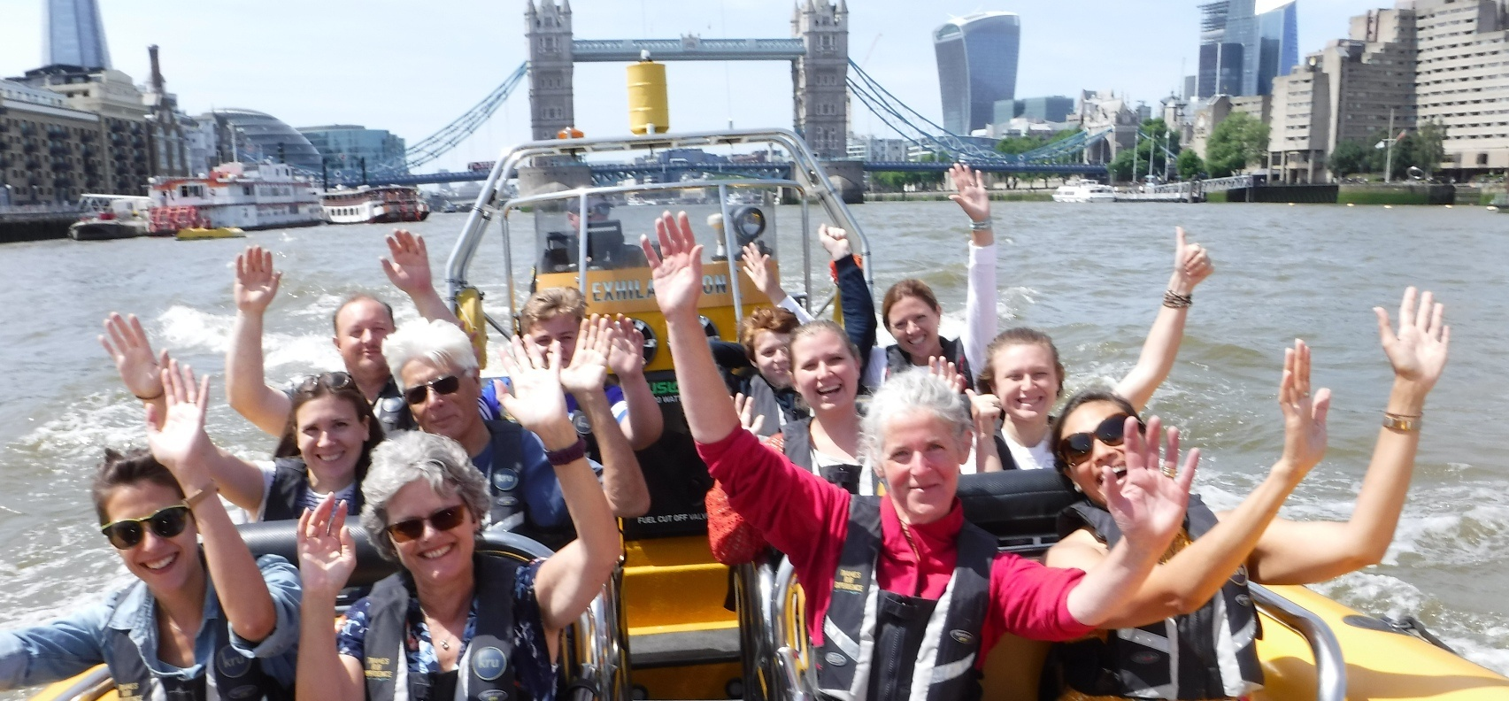 London Tower Thames Rib Blast