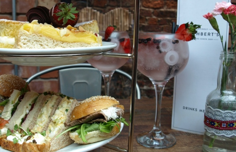 Traditional afternoon tea with fizz Liverpool.jpg