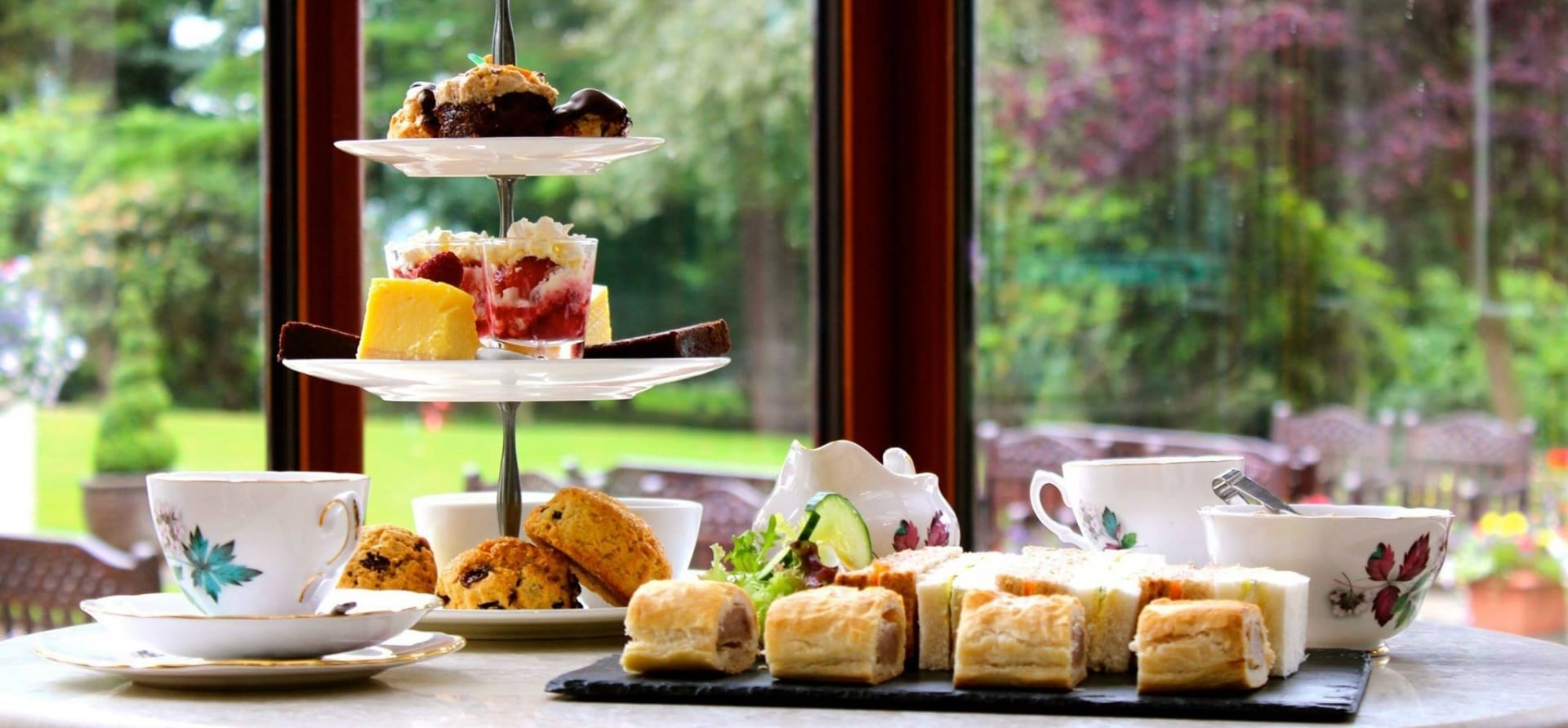 Traditional Afternoon Tea for Two in Cumbria-2