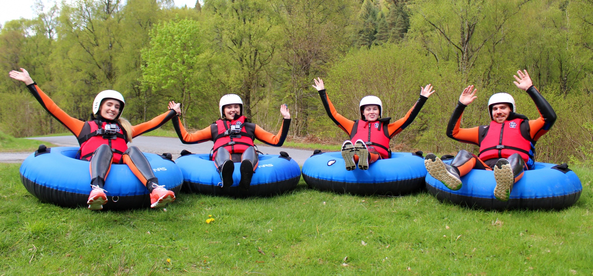 Adventure Tubing Experience for Two - Perthshire-3