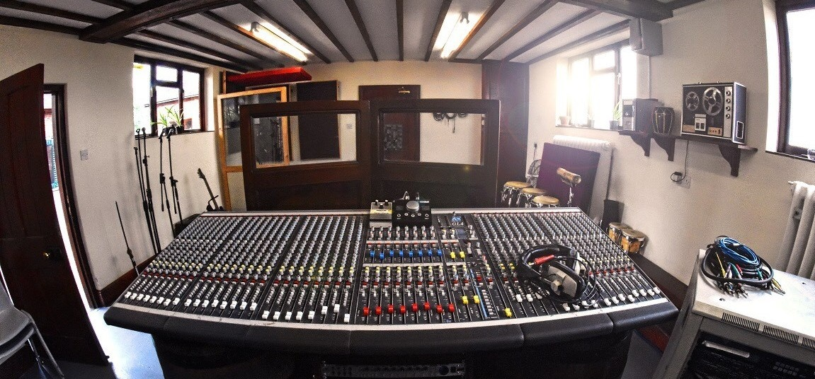 Two Hour Recording Studio Experience In Derbyshire