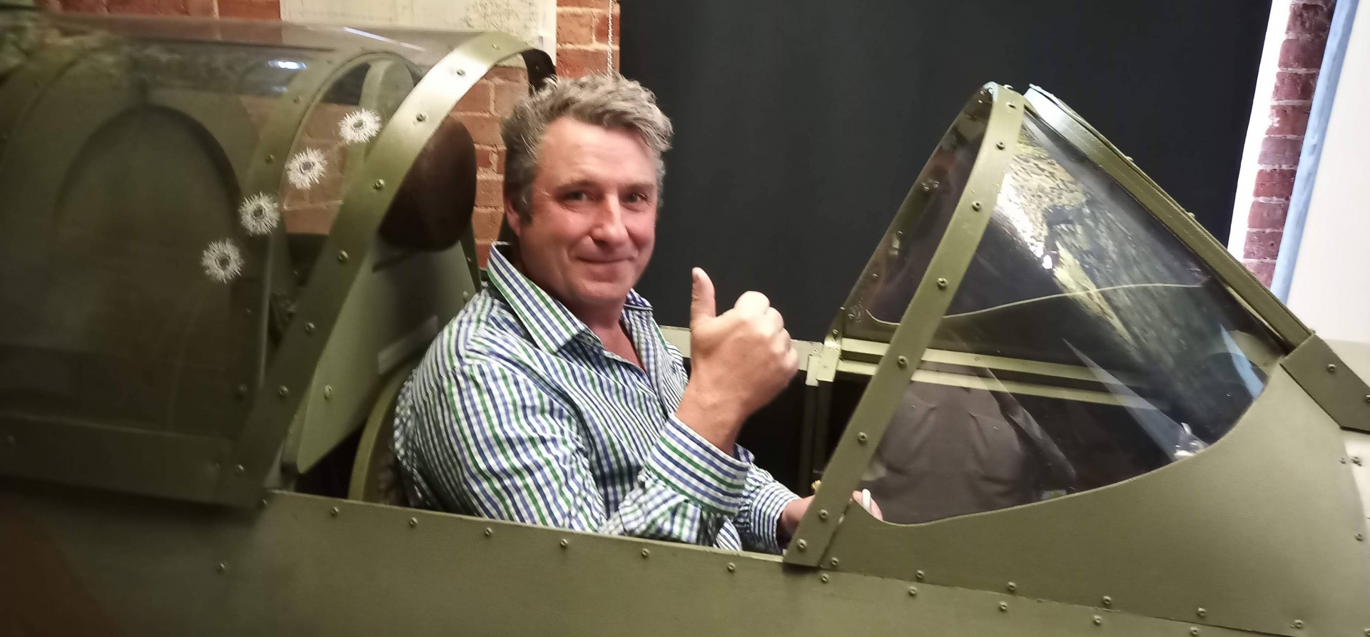 Two Hour Spitfire Flight Simulator In Warwickshire