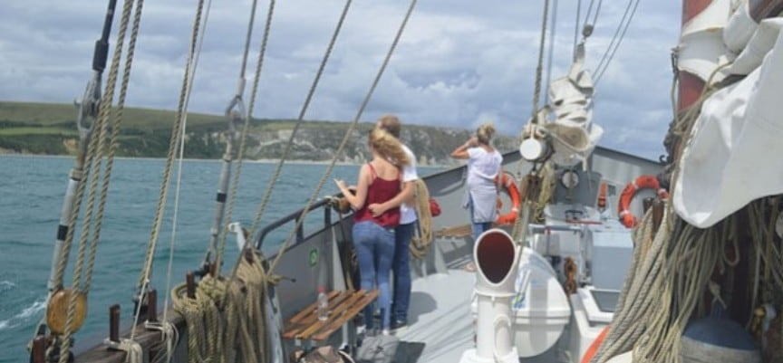 Two Hour Tallship Sailing Experience in Dorset-3