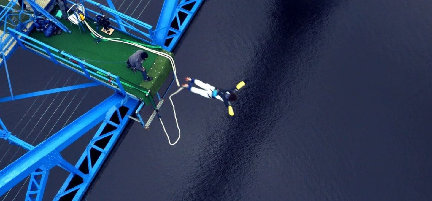Middlesbrough Bridge Bungee Jump Special-3