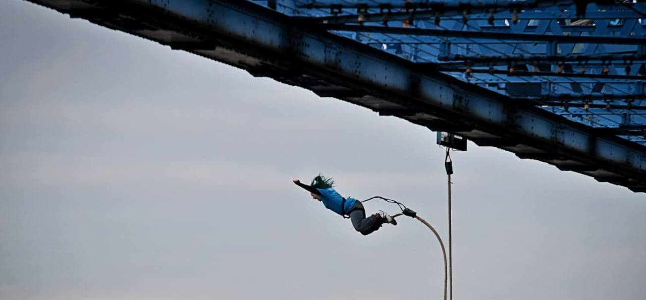 Middlesbrough Bridge Bungee Jump Special-1