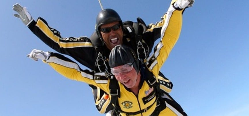 Highest UK Tandem Skydive - Weekday-5