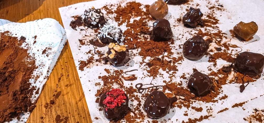 Online Truffle Making Workshop With Ingredients Kit