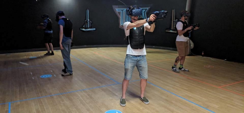 Virtual Reality Shooting Tag Game in Bournemouth-3