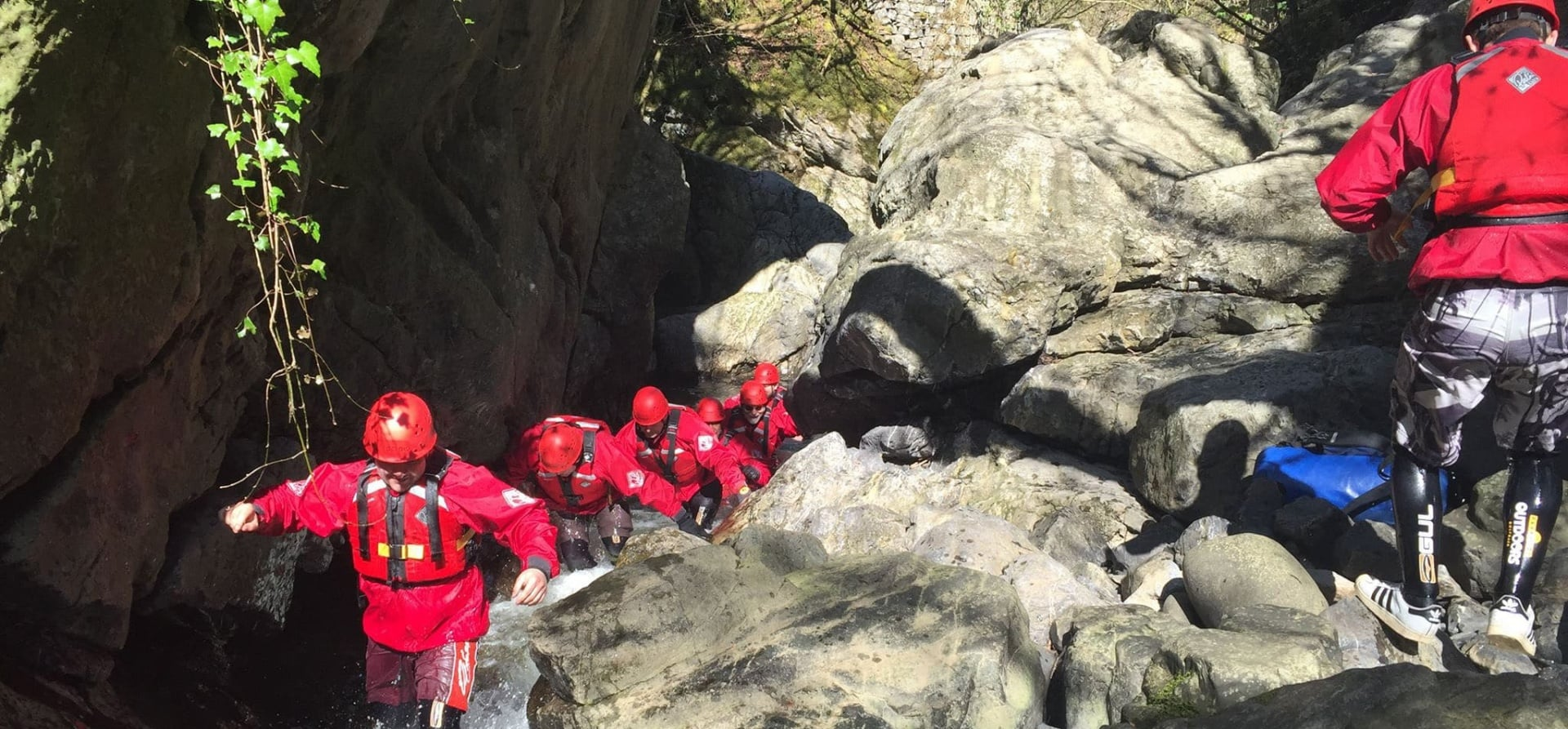 Gorge Walking in Glamorgan - Half Day Adventure for 2-4